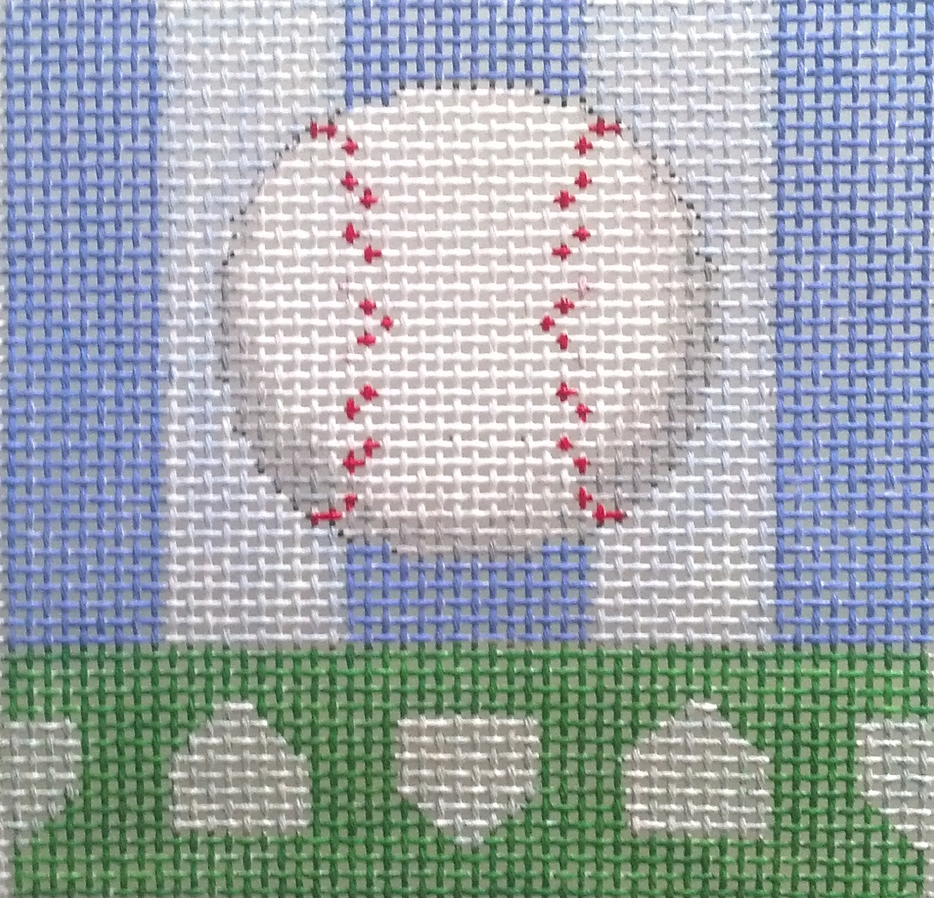 Baseball Needlepoint
