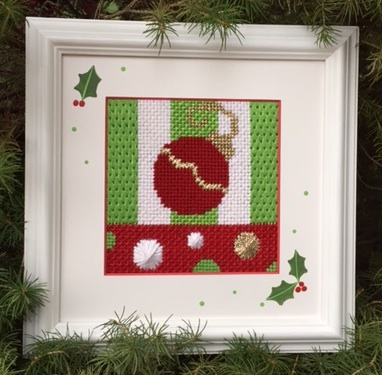 Needlepoint Ornament BethGantzDesigns