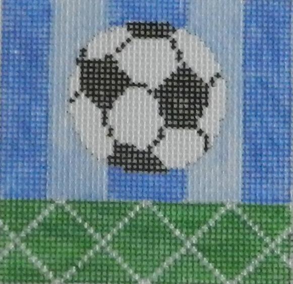 needlepoint soccer