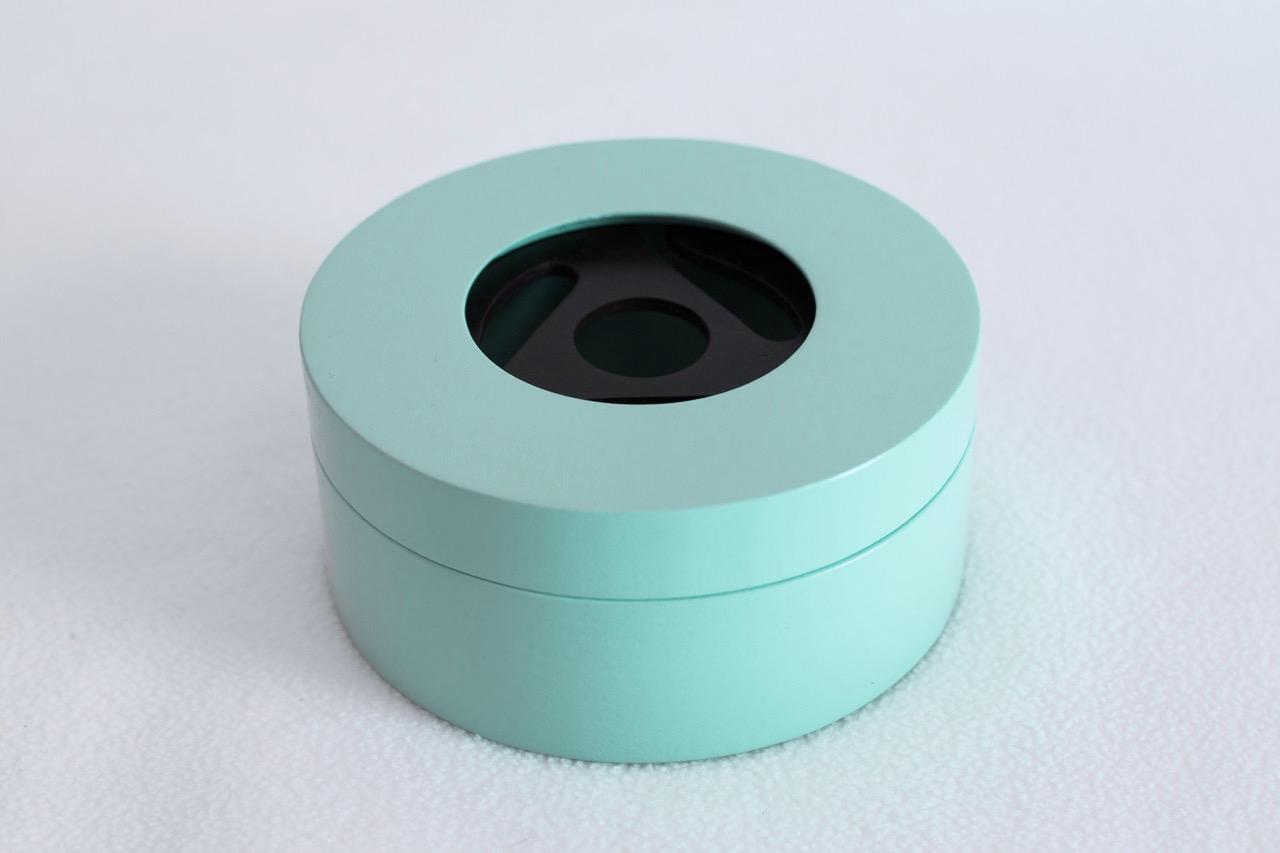 Aqua Round Box 1