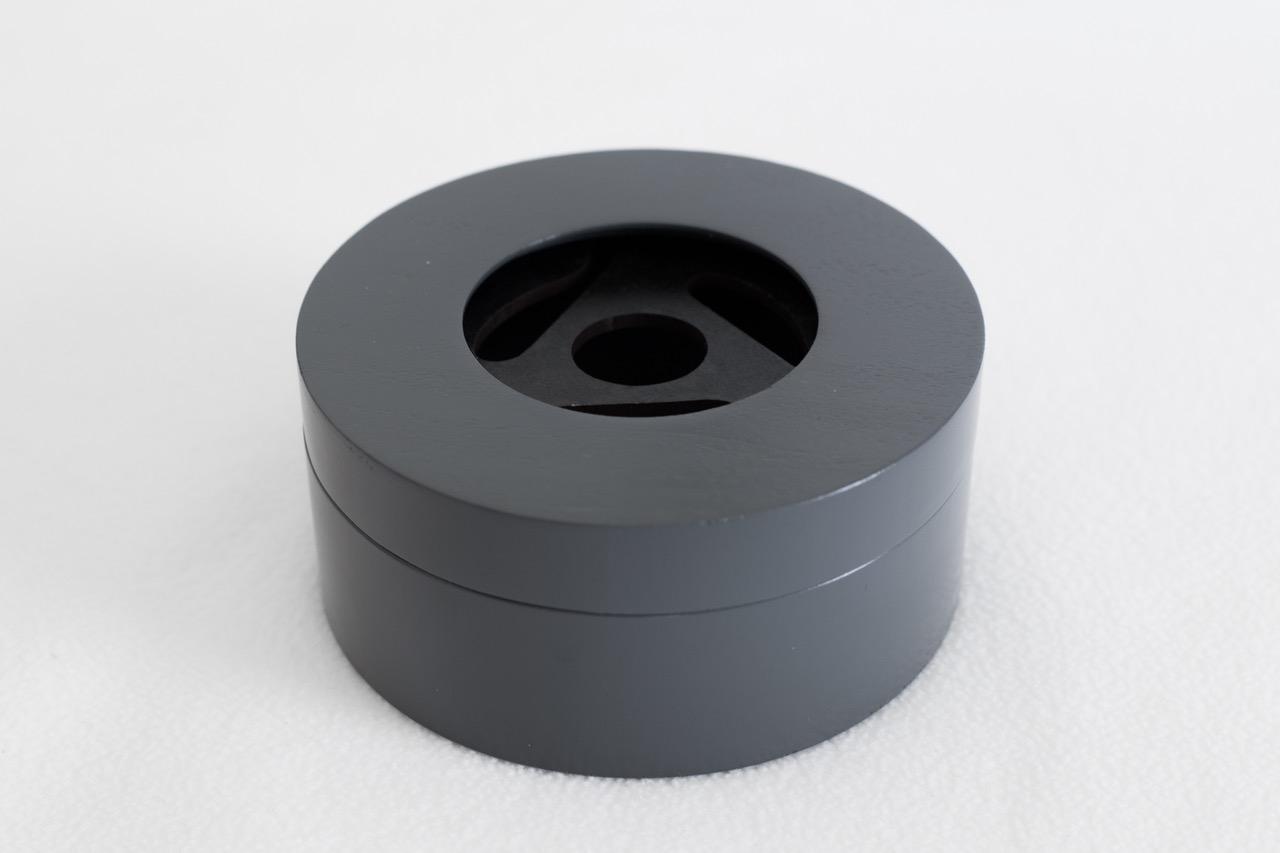 Gray Round B0x 1