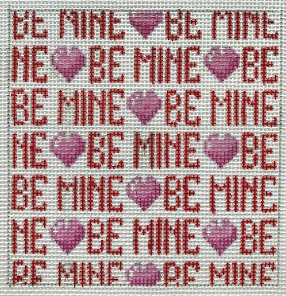 Be Mine Needlepoint