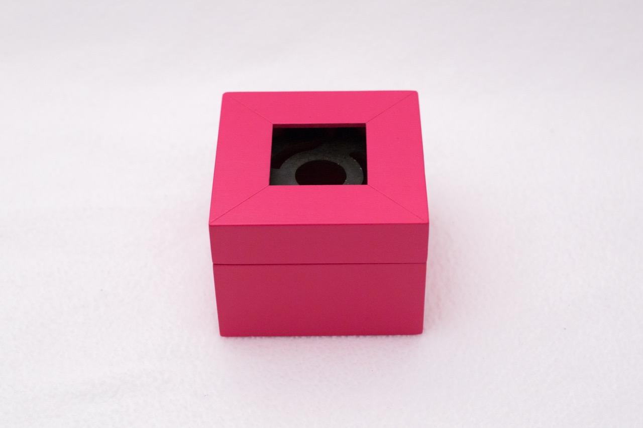 Pink Square box 1