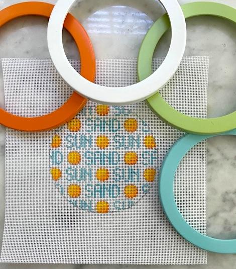 Sun and sand Round