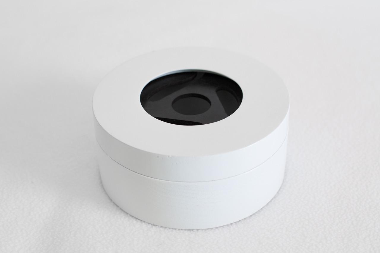 White Round Box 1