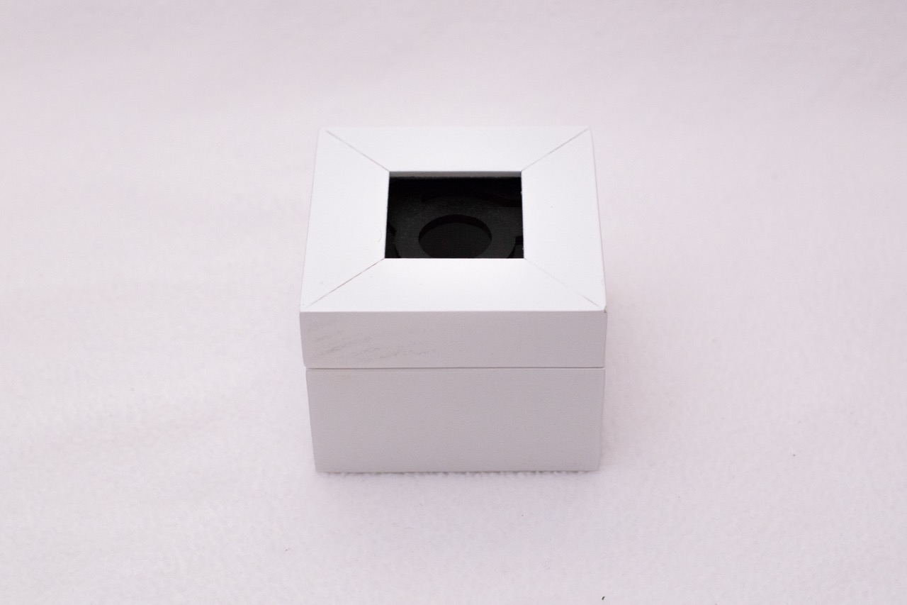 White Square Box 1