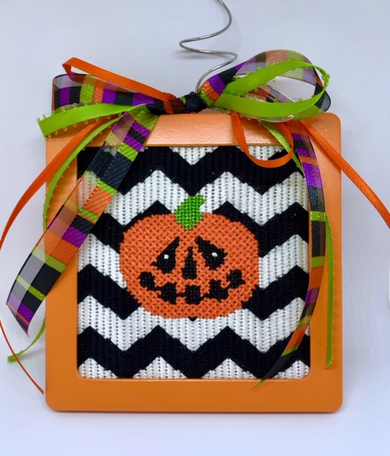 pumpkin chevron needlepointjpg